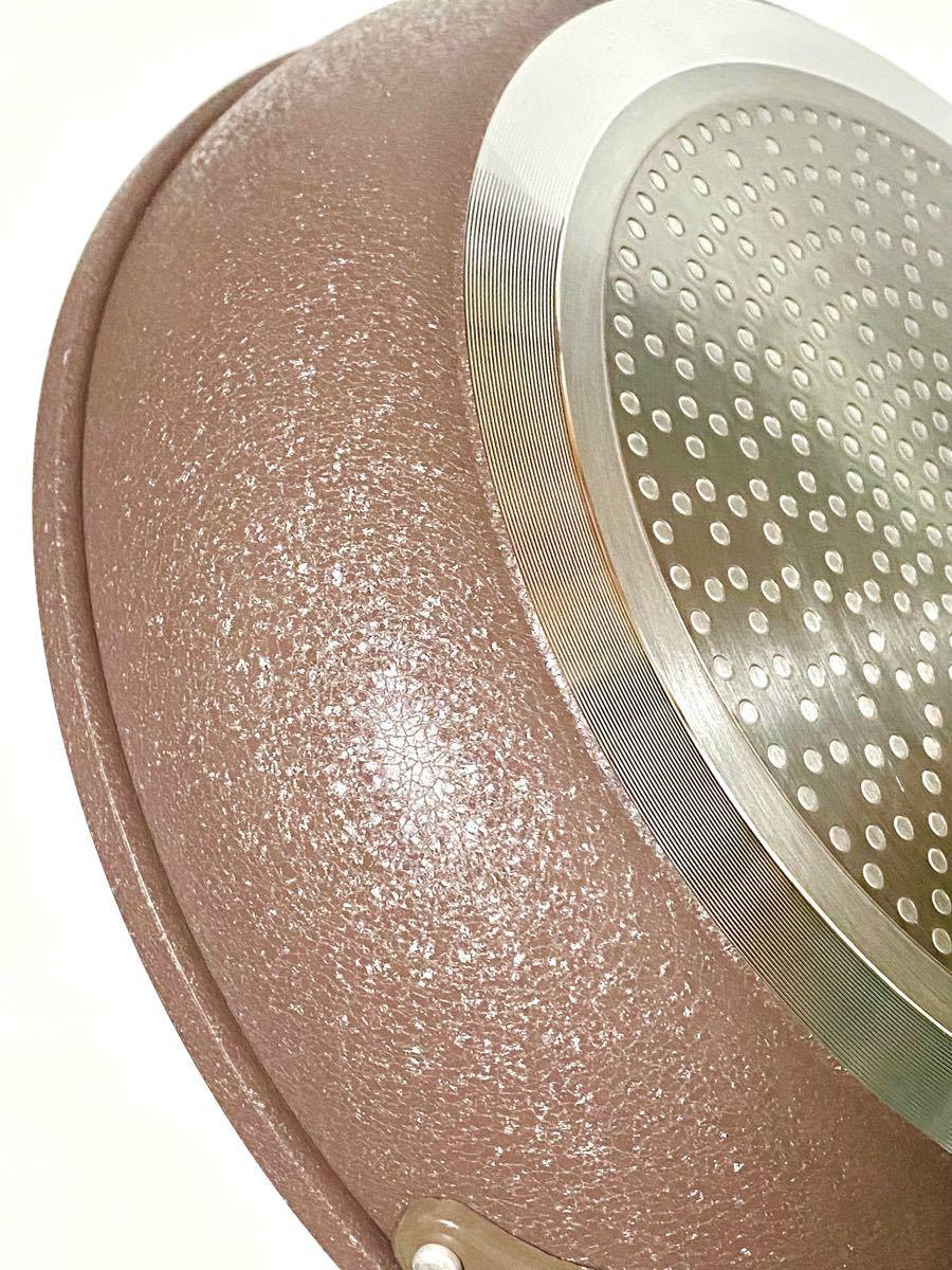 ベストコ(Bestco) IH対応 深型フライパン ダイヤモンドコート 30cm アリエッタネクスト アイスフラワーブラウン 新品
