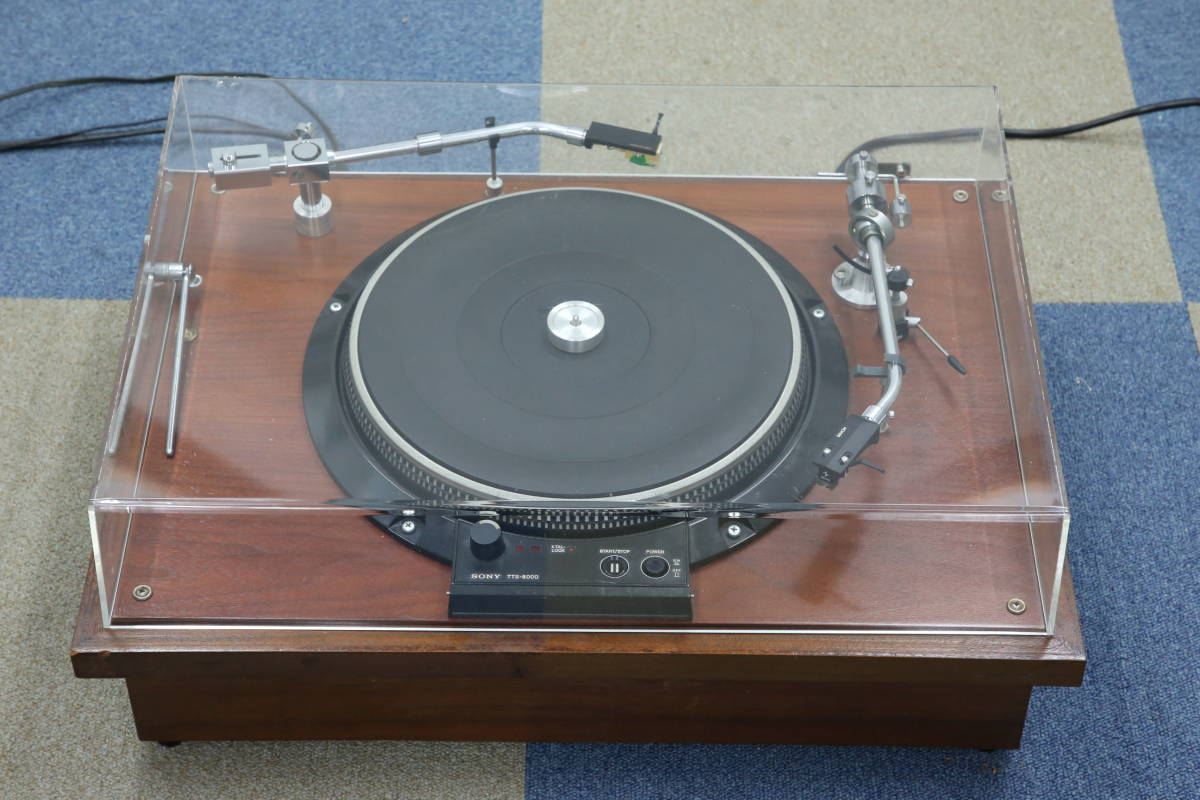 ソニー ターンテーブル TTS-8000 マルチアーム _画像1