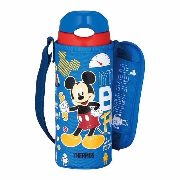 【新品未使用】サーモス真空断熱ストローボトル0.4Lミッキー 水筒 ディズニー ステンレスボトル THERMOS