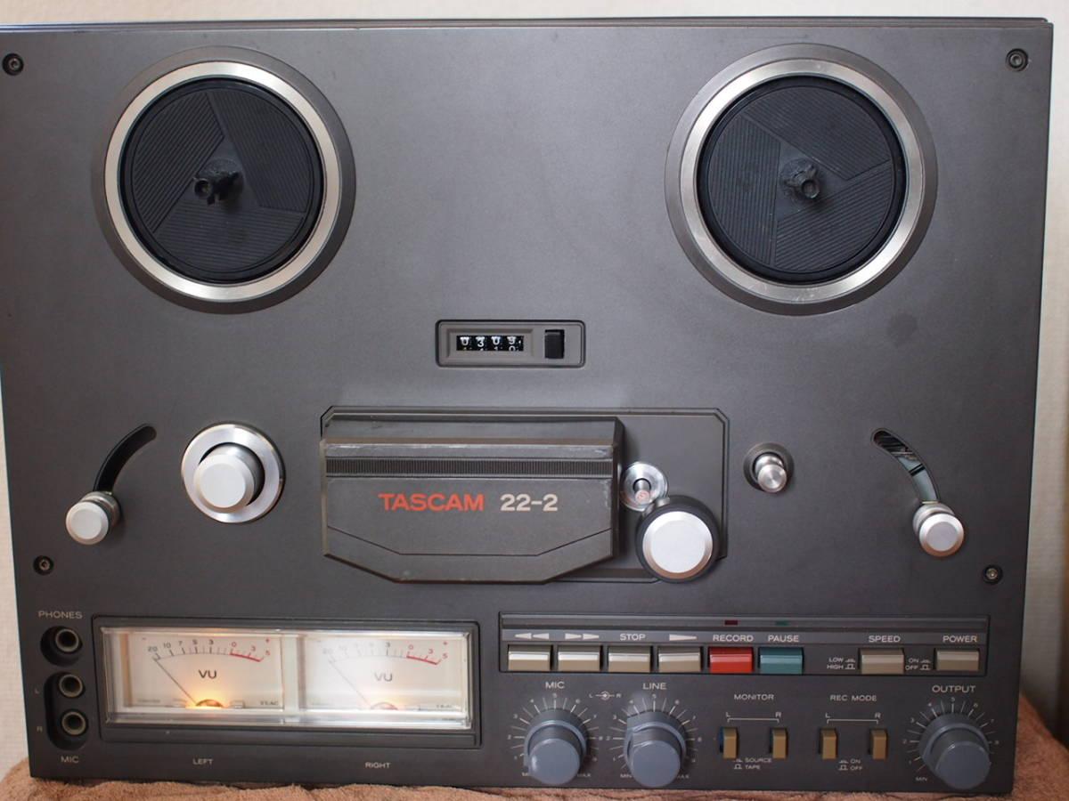 TEAC  TASCAM22-2 2トラック38センチ ステレオテープデッキ_画像1