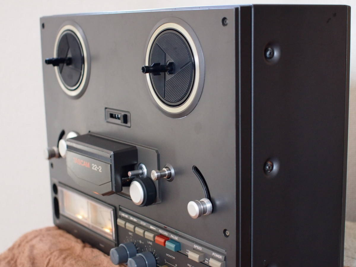 TEAC  TASCAM22-2 2トラック38センチ ステレオテープデッキ_画像3