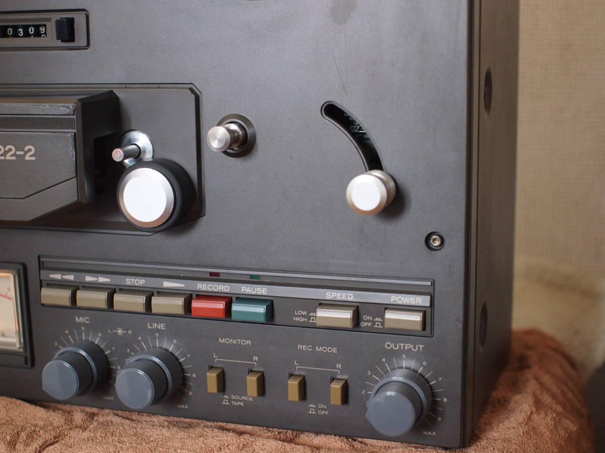 TEAC  TASCAM22-2 2トラック38センチ ステレオテープデッキ_画像4