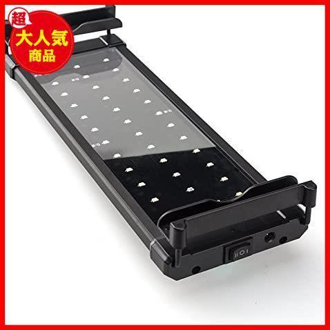 新品Lightess アクアリウムライト led 水槽 ライト 水槽用 照明 2つ照明モード 30-50CM水槽対応BT8G_画像1