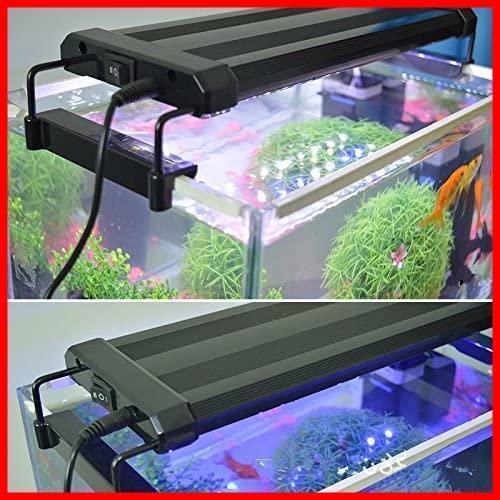 新品Lightess アクアリウムライト led 水槽 ライト 水槽用 照明 2つ照明モード 30-50CM水槽対応BT8G_画像6