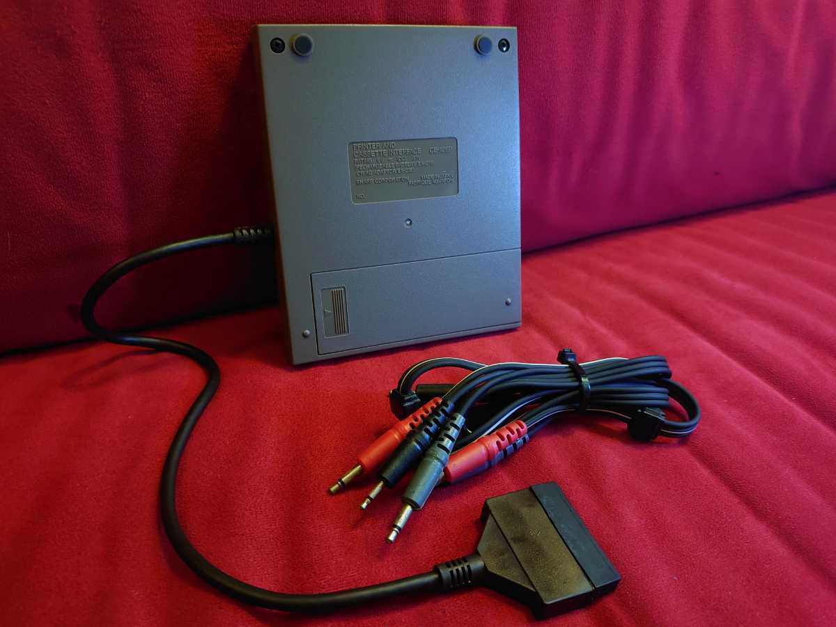 [SHARP]CE-126P PRINTER CASSETTE INTERFACE карманный компьютер карманный компьютер принтер sharp