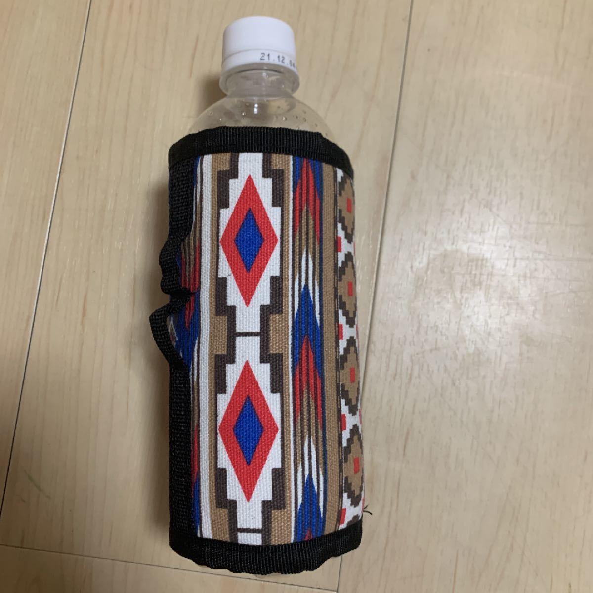 オルテガ柄ガス缶カバー(OD缶2枚、CB缶2枚)合計4枚セット