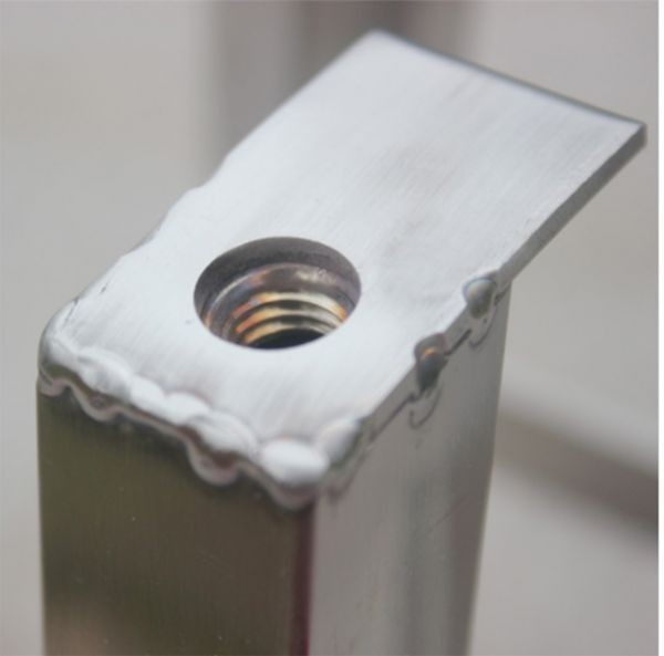 井戸 手押しポンプ用 架台 ステンレス製 高さ42Cm 水槽 ポンプ_画像4