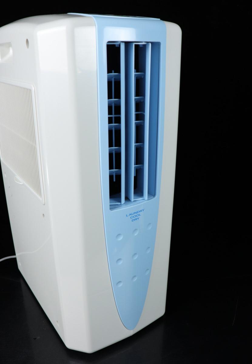 【動作OK】CORONA CDM-1018 冷風 衣類乾燥除湿機 排熱ダクト 箱付 2018年製 どこでもクーラー 大型5.8Lタンク 除湿機 冷風機 FALY16_画像3