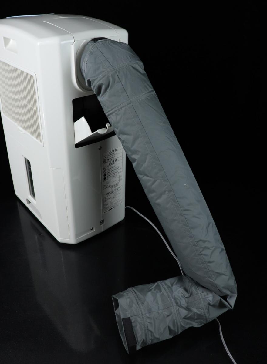 【動作OK】CORONA CDM-1018 冷風 衣類乾燥除湿機 排熱ダクト 箱付 2018年製 どこでもクーラー 大型5.8Lタンク 除湿機 冷風機 FALY16_画像6