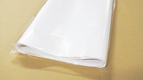 フジパック 純白紙 片面ツヤ加工 包装紙 100枚_画像2