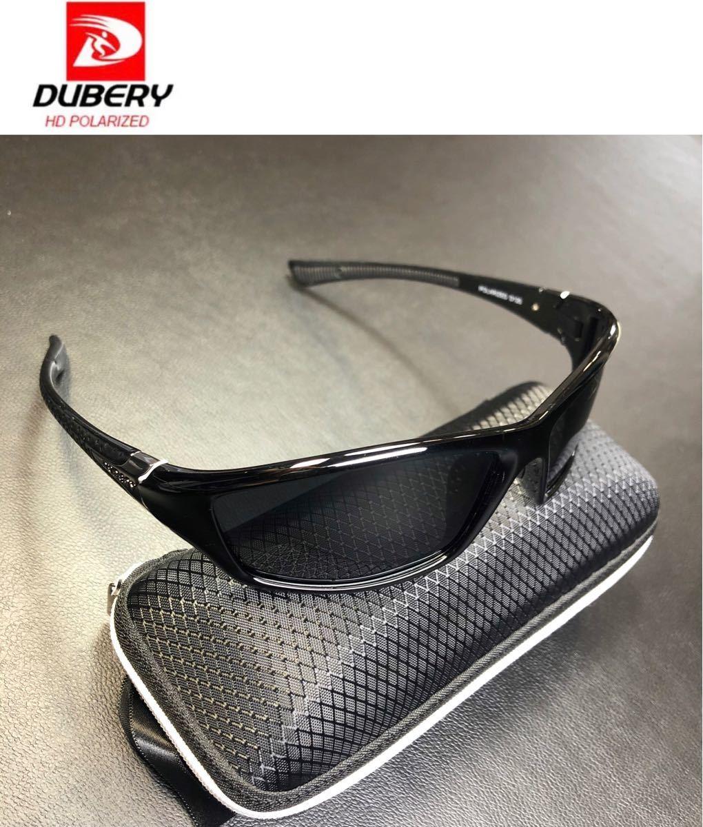DUBERY サングラス 偏光グラス UV400 軽量 車  釣り アウトドア スポーツサングラス 超軽量 釣りドライブ
