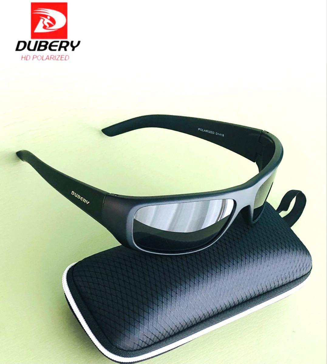 DUBERY サングラス 偏光グラス UV400 軽量 車  釣り アウトドア スポーツサングラス 紫外線カット