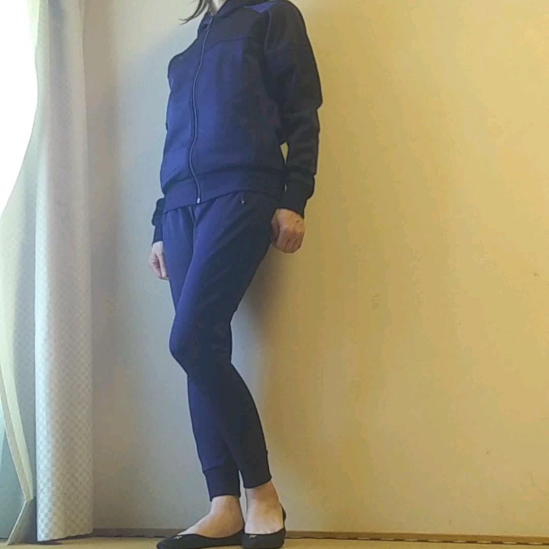 3500円に値下げ☆美品♪new balance☆ニューバランスジャージ上下セット メンズS