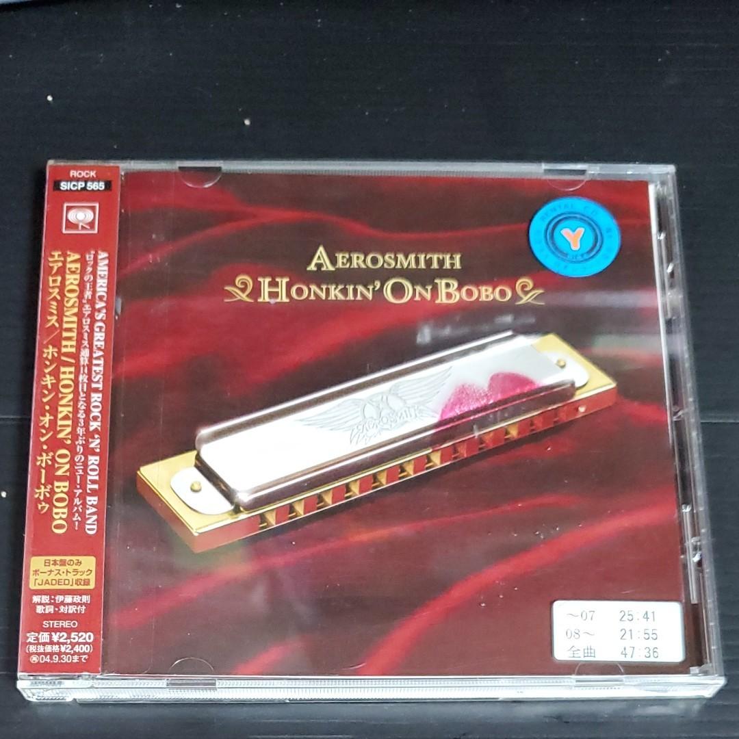 『CD』エアロスミス/HonkinonBobo レンタル落ち中古CD