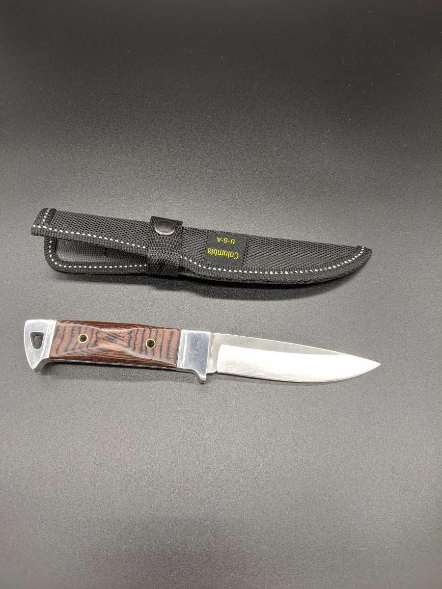 1371237 サバイバルナイフ columbia シースナイフ アウトドア用小型ナイフ サバイバル コロンビア フルタング