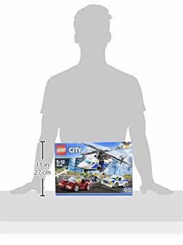 残り1個★ レゴ (LEGO) シティ ポリスヘリコプターとポリスカー 60138 ブロック おもちゃ 男の子 車_画像9