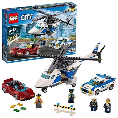残り1個★ レゴ (LEGO) シティ ポリスヘリコプターとポリスカー 60138 ブロック おもちゃ 男の子 車_画像1