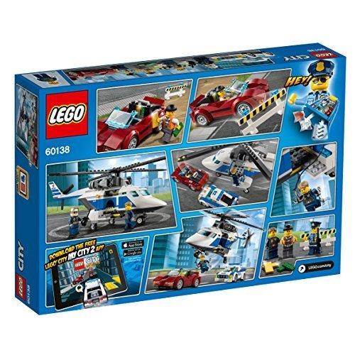残り1個★ レゴ (LEGO) シティ ポリスヘリコプターとポリスカー 60138 ブロック おもちゃ 男の子 車_画像5