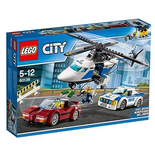 残り1個★ レゴ (LEGO) シティ ポリスヘリコプターとポリスカー 60138 ブロック おもちゃ 男の子 車_画像4