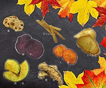 大地の生菓 7種類の秋野菜チップス 150g お菓子 おやつ スナック菓子 こども おつまみ ギフト ドライフルーツ_画像5