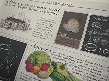 カラー/モノクロ 包装紙 おしゃれ フランス新聞紙風 50枚入_画像3