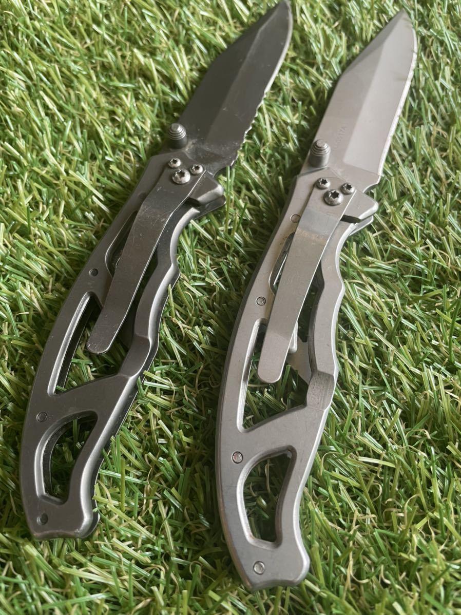 GERBER #007 Paraframe 2本セット ガーバー パラフレーム フォールディングナイフ 折りたたみナイフ