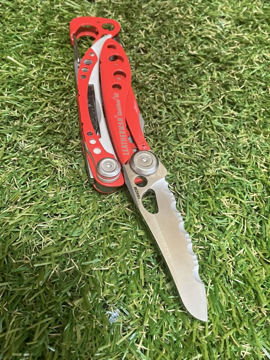 LEATHERMAN SKELETOOL RX レザーマン マルチプライヤー ツールナイフ マルチツール