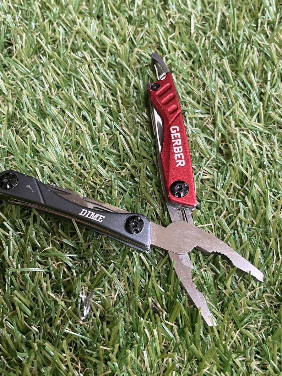 GERBER DIME Red ガーバー マルチツール マルチプライヤー ツールナイフ