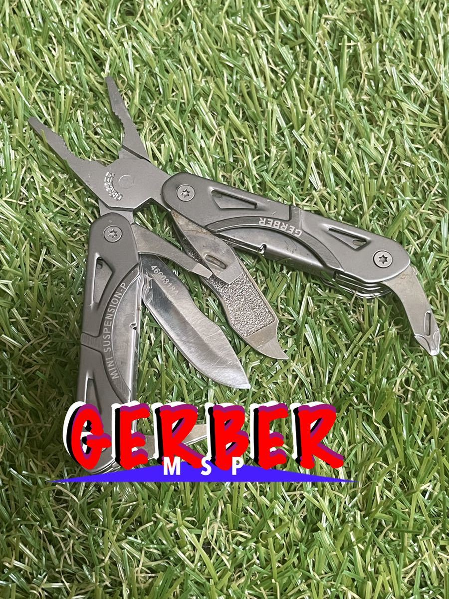 GERBER Mini Suspension Plier ガーバー マルチツール マルチプライヤー