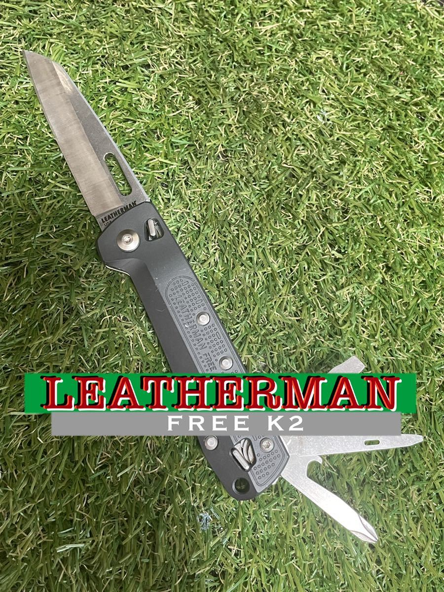 LEATHERMAN FREE K2 レザーマン アウトドアナイフ マルチツール ツールナイフ