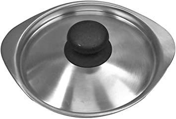 シルバー 蓋 柳宗理 日本製 鍋蓋 径16cm ステンレスミルクパン用ふた つや消し_画像1