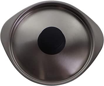 シルバー 蓋 柳宗理 日本製 鍋蓋 径16cm ステンレスミルクパン用ふた つや消し_画像3