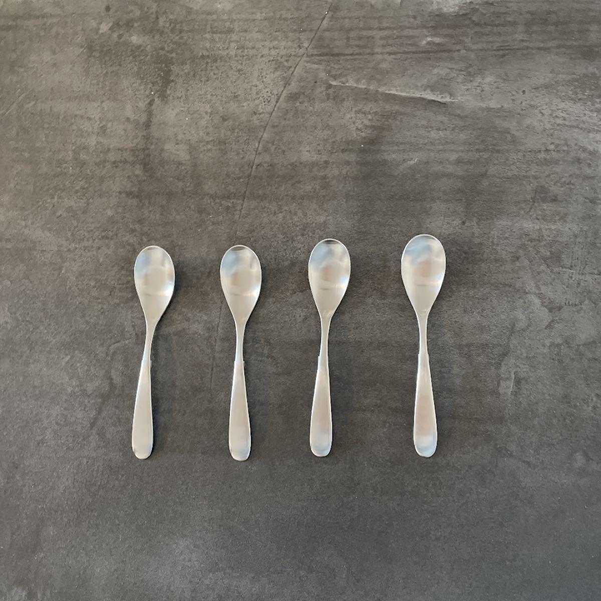 ツバメカトラリー 4本セット スプーン小 新品未使用 made in tsubame 燕