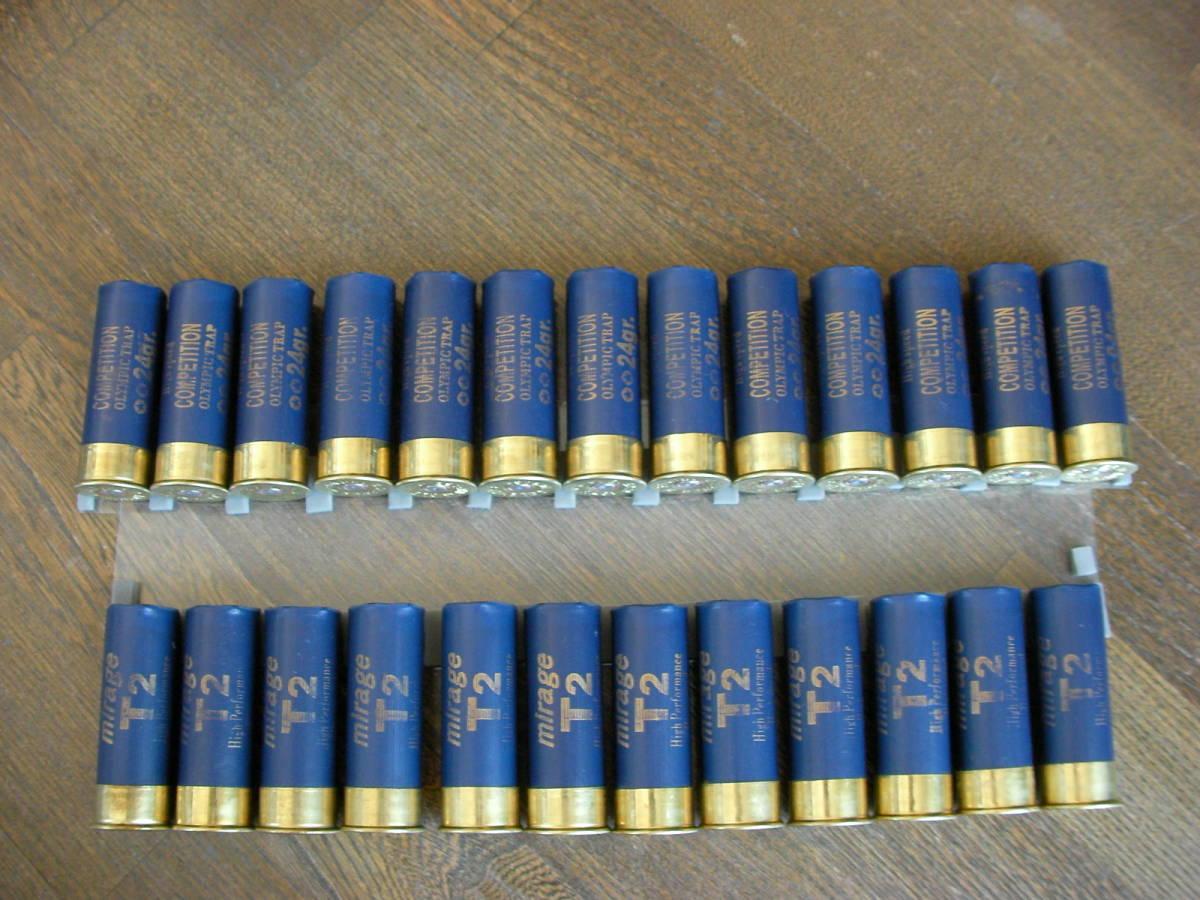 [小物] ミラージュT2 空薬莢 ショットガン ダミーカート 25本セット M870 M3 M4 M24 M700 M40 VSR L96 98K M37 SDV APS _画像2