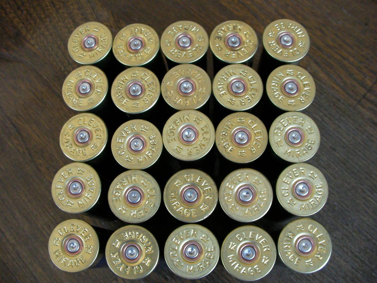 [小物] ミラージュT2 空薬莢 ショットガン ダミーカート 25本セット M870 M3 M4 M24 M700 M40 VSR L96 98K M37 SDV APS _画像4