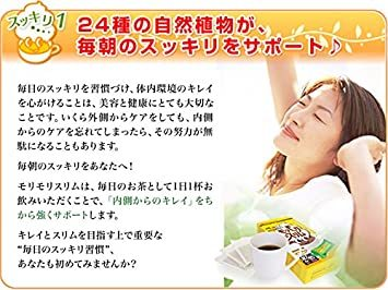 150g(5gティーバッグ×30包) ハーブ健康本舗 モリモリスリム ( ほうじ茶風味 ) ( 30包 )_画像4