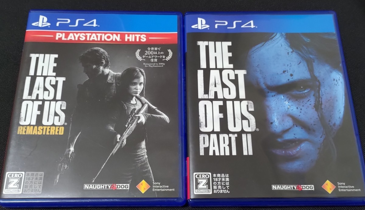THE LAST OF US PS4 ラストオブアス PS4ソフト