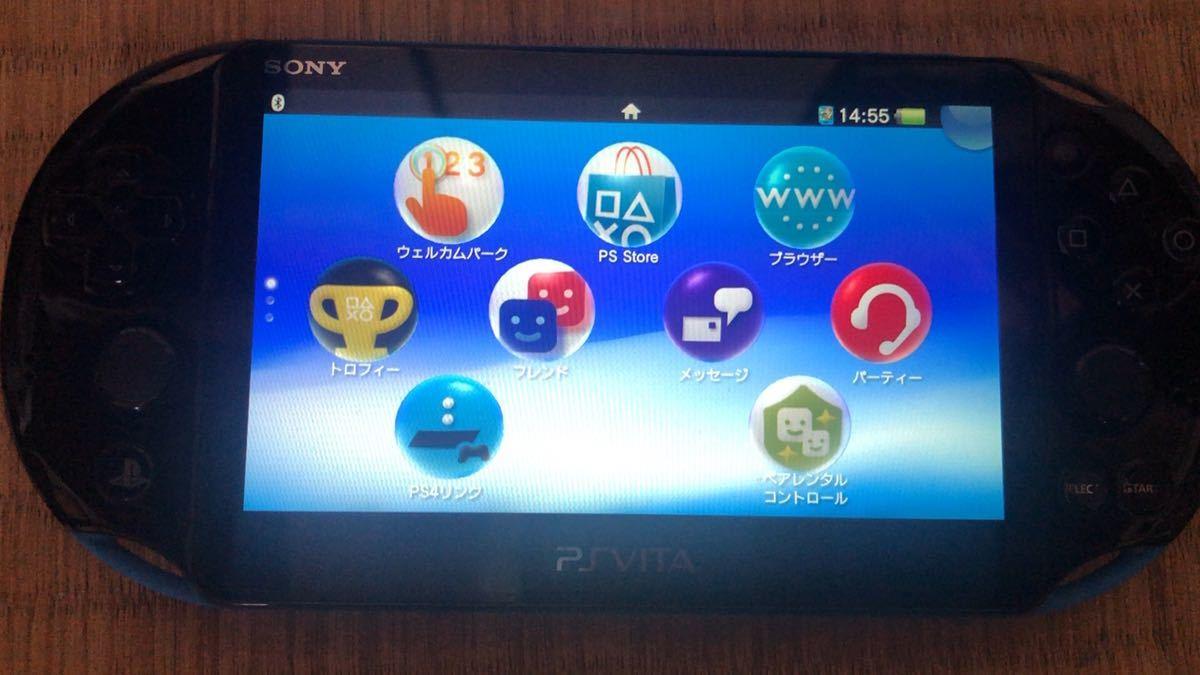 PlayStation Vita PCH-2000 Wi-Fiモデル ブラック