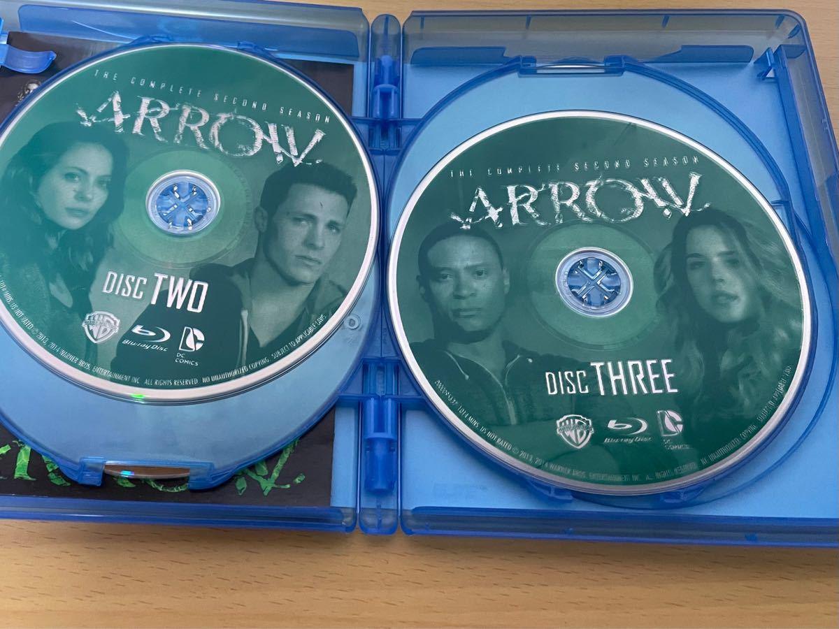 fulu様 専用 「ARROW アロー」シーズン2 &4  Blu-ray(海外盤)