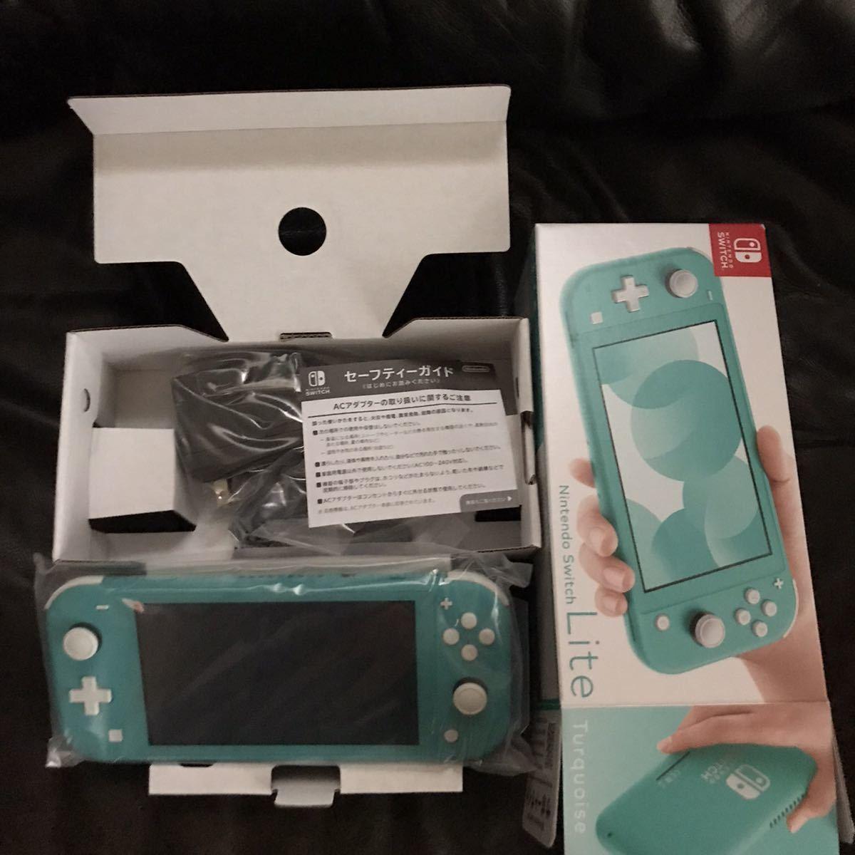 【1円スタート・ 新品未使用・返品可】Nintendo Switch Lite 本体 (ニンテンドースイッチライト)+ソフト2本+液晶保護フィルム_画像5