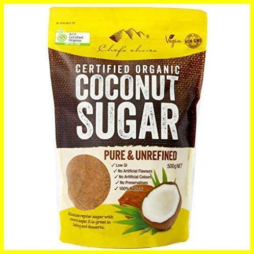 (500g~1kg)シェフズチョイス オーガニックココナッツシュガー 有機JAS ACO USDA Organic Coconut Sugar (500g)_画像1