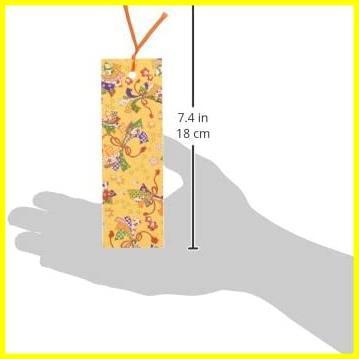 【Amazon.co.jp 限定】和紙かわ澄 友禅和紙しおり ブックマーカー 柄いろいろセット 6枚入_画像3