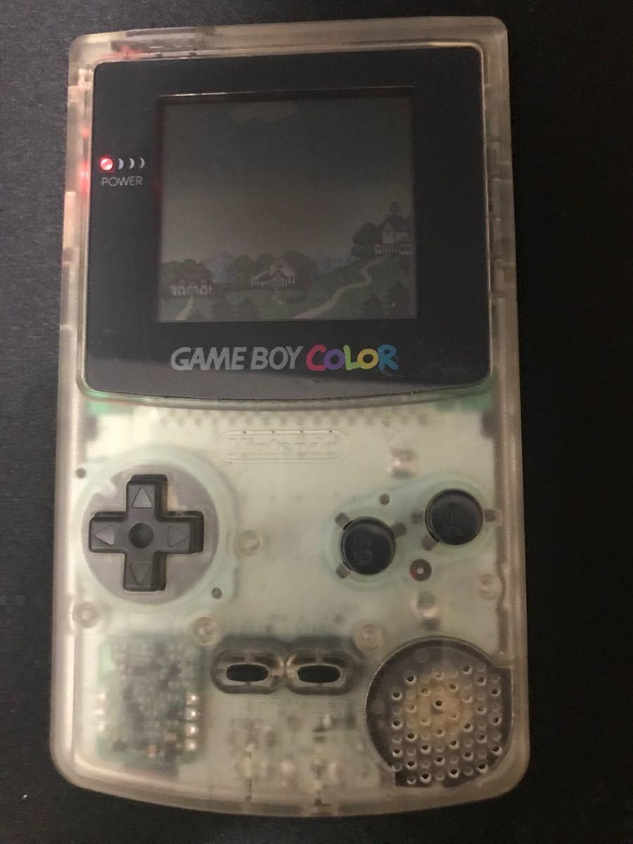 ゲームボーイカラー Nintendo クリア 任天堂