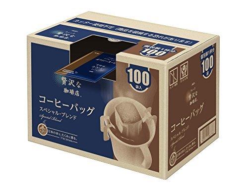 AGF ちょっと贅沢な珈琲店 レギュラーコーヒー ドリップパック スペシャルブレンド 7g*100袋 【 ドリップコーヒー 】_画像7
