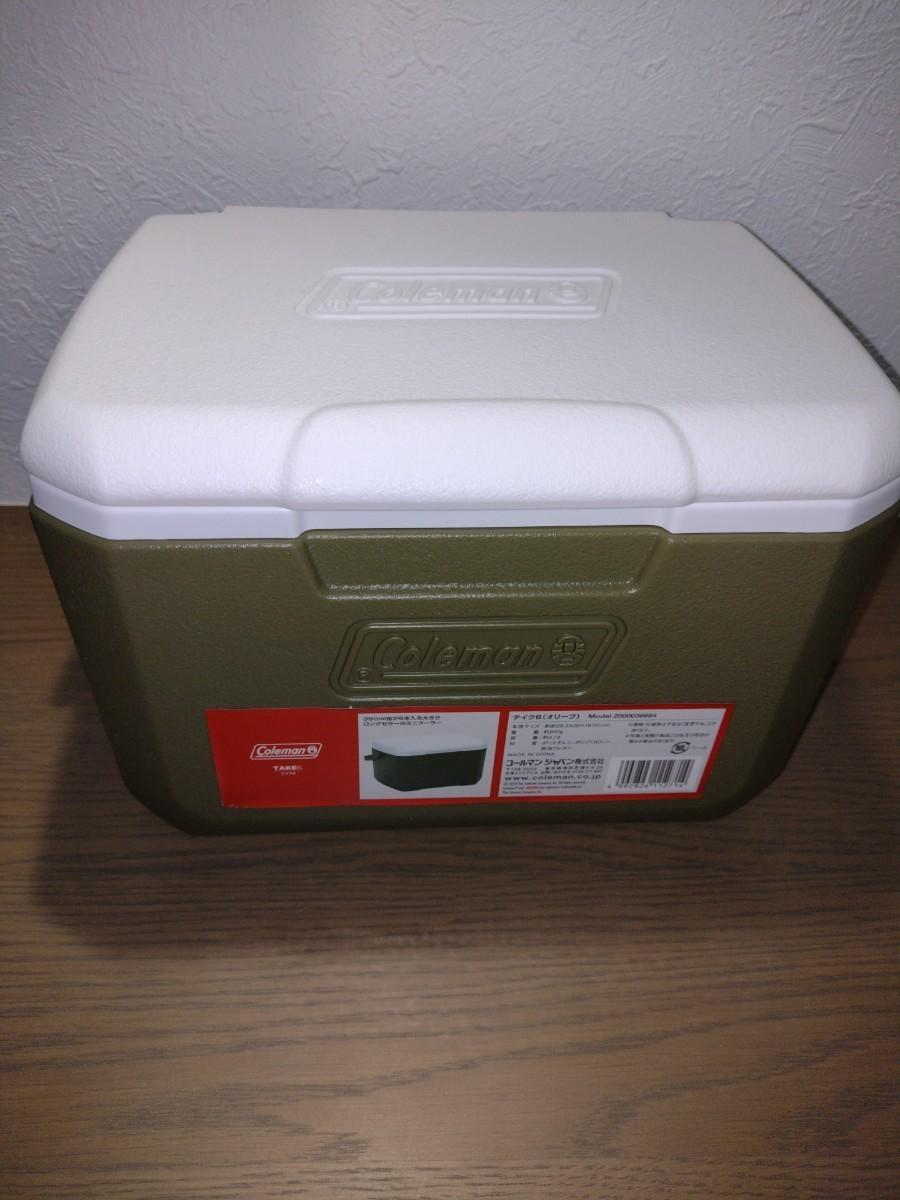 コールマン(Coleman)クーラーボックス テイク6容量約4.7L 新品未使用