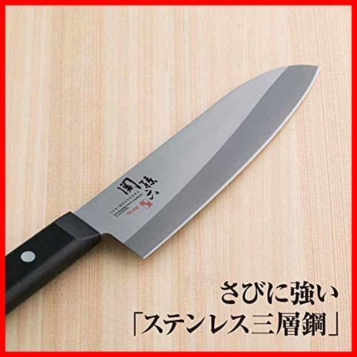 貝印 KAI 三徳包丁 関孫六 萌黄 165mm 日本製 AE2900_画像3