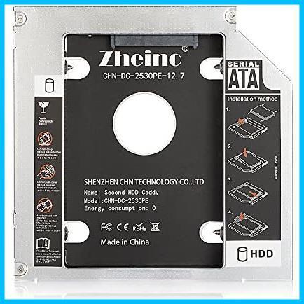 ★本日限定★SATA/HDDマウンタよりCD/DVD 12.7mmノートPCドライブマウンタ 光学ドライブベイ用 に置き換えます Zheino AA987 CADDY_画像2
