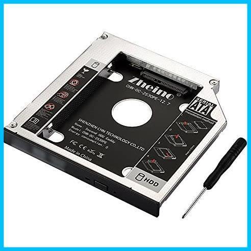 ★本日限定★SATA/HDDマウンタよりCD/DVD 12.7mmノートPCドライブマウンタ 光学ドライブベイ用 に置き換えます Zheino AA987 CADDY_画像1