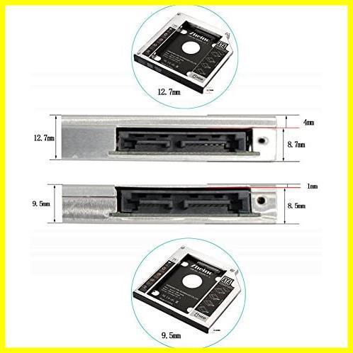 ★本日限定★SATA/HDDマウンタよりCD/DVD 12.7mmノートPCドライブマウンタ 光学ドライブベイ用 に置き換えます Zheino AA987 CADDY_画像6