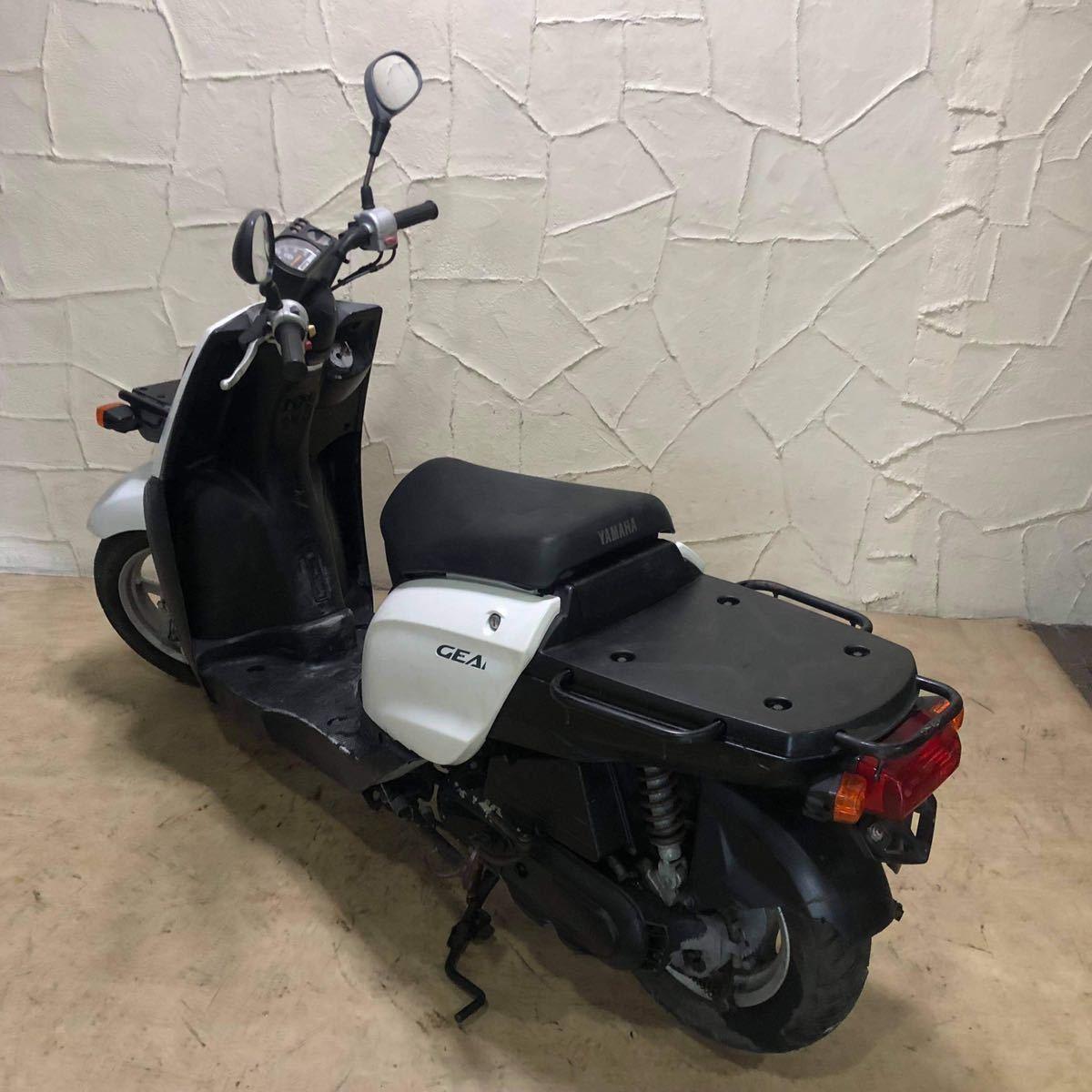 「ヤマハ ギア UA06J 点検済原付 スクーター Yamaha Gear 」の画像2